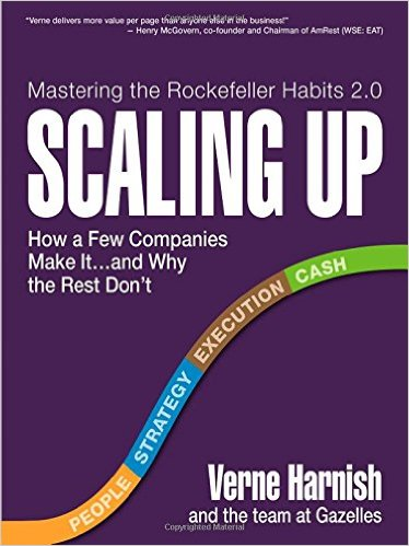 Scaling Up: How a Few Companies Make It…and Why the Rest Don't (Rockefeller Habits 2.0)