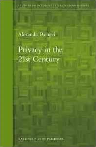Privacy in the 21st Century (Studies in Intercultural Human Rights)